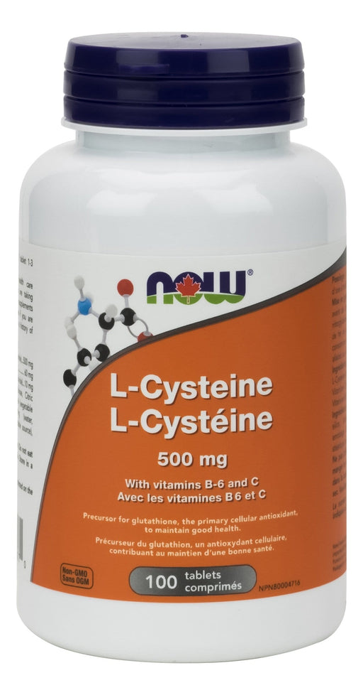 NOW L-Cysteine 500 mg 100 Tablets