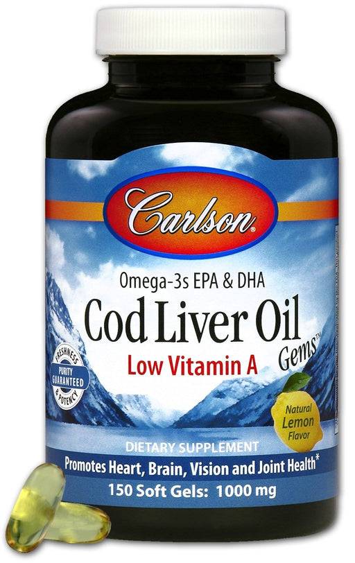 Carlson Laboratories Low A Cod Liver Oil
