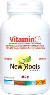 New Roots Vitamin C⁸ 1165 mg 250 g Powder