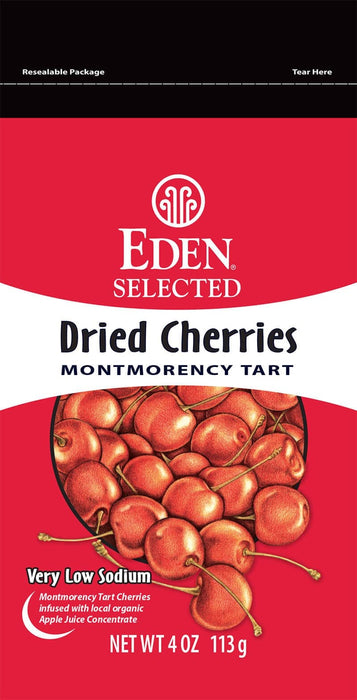 Eden Foods Selected Dried Tart Cherries 113 g