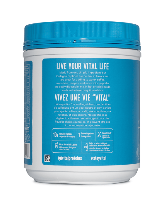Vital Proteins Collagen Peptides Unflavored 567 g