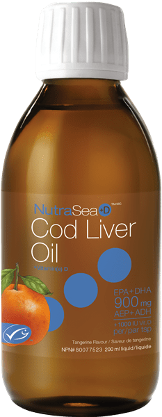 Ascenta NutraSea +D Cod Liver Oil 200 ml