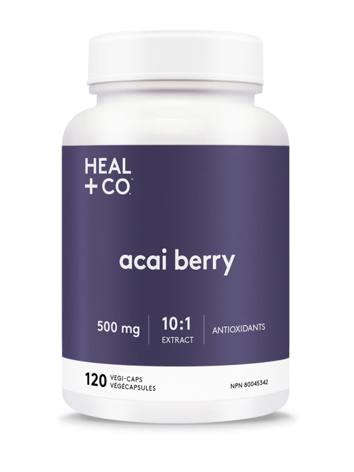 Heal + Co. Acai Berry Vegi-Caps