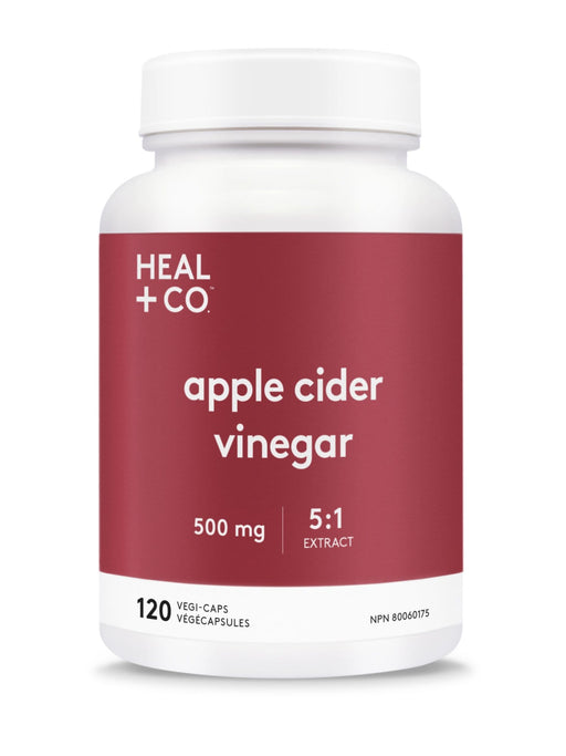 Heal + Co. Apple Cider Vinegar Vegi-Caps