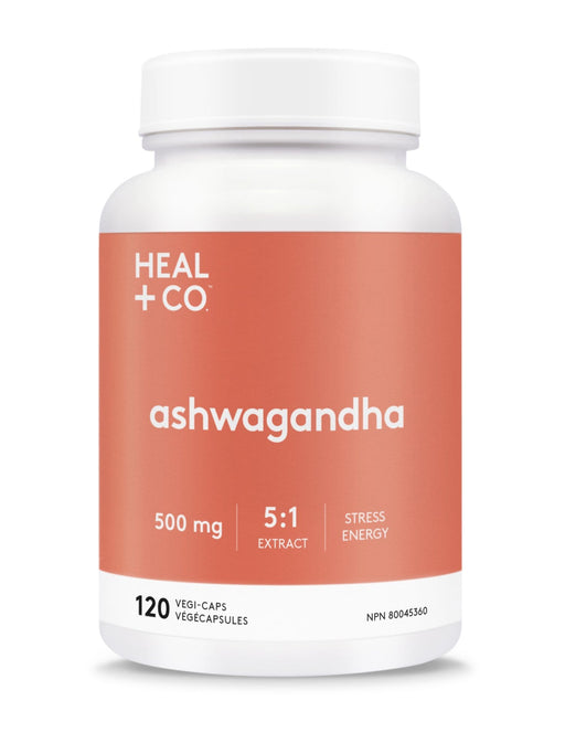 Heal + Co. Ashwagandha Vegi-Caps