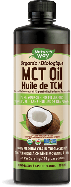 Nature's Way Organic MCT Oil 480 ml