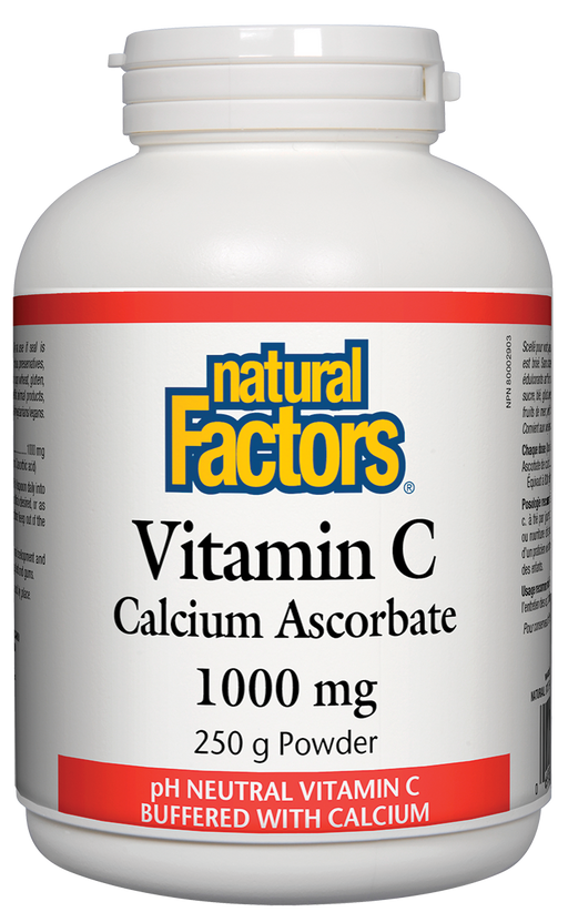 Natural Factors Vitamin C - Calcium Ascorbate Powder 250 g