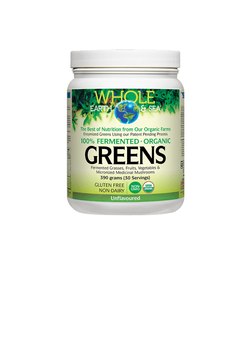 Whole Earth and Sea Fermented Organic Greens Unflavoured