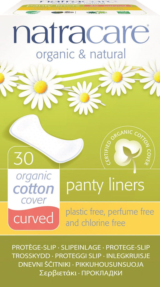 Natracare Curved Panty Liners