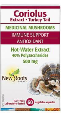 New Roots Coriolus Extract, Turkey Tail