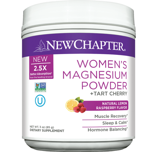 New Chapter Women's Magnesium Powder 35 Servings