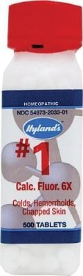 Hyland's Calcarea Fluorica 6X Cell Salts 500 tabs