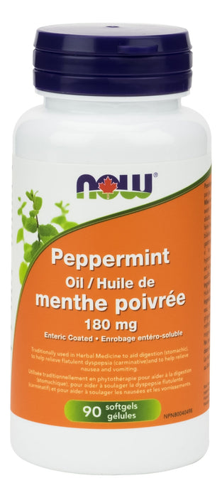 NOW Peppermint Oil 180 mg