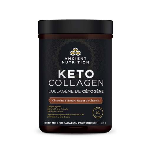 Ancient Nutrition Keto Collagen Chocolate 374 g