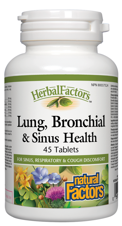 Natural Factors Lung, Bronchial & Sinus Health