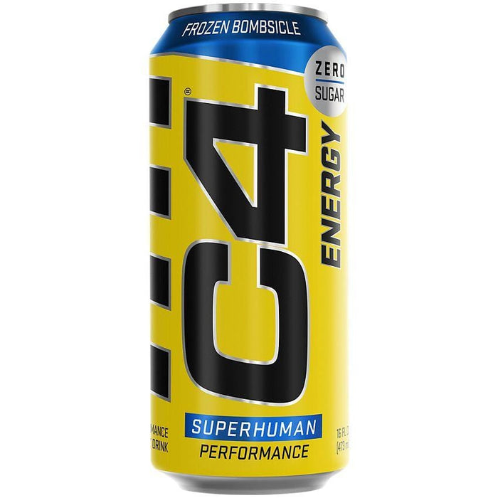 Cellucor C4 Carbonated Frozen Bombsicle 473 mL Can