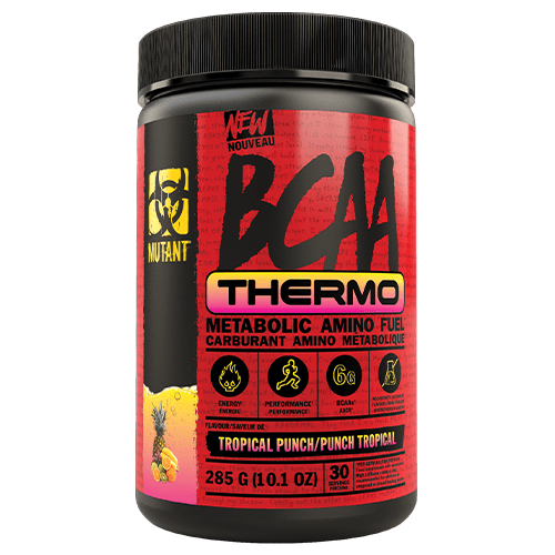 Mutant BCAA Thermo Metabolic Amino Fuel Tropical Punch, 30 Servings, 285g