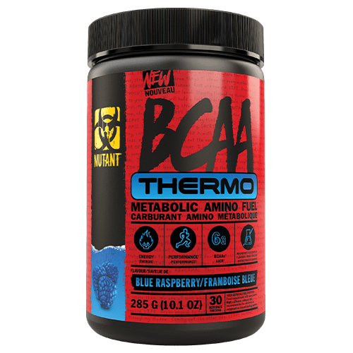 Mutant BCAA Thermo Metabolic Amino Fuel Blue Raspberry, 30 Servings, 285g