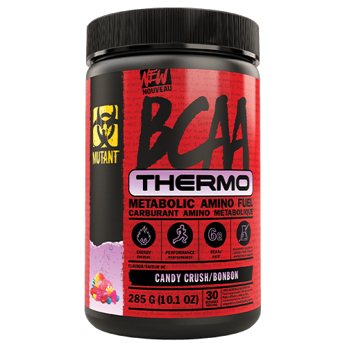 Mutant BCAA Thermo Metabolic Amino Fuel Candy Crush, 30 Servings, 285g