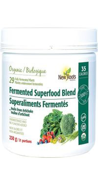 New Roots Fermented Superfood Blend + Inulin from Jerusalem Artichoke 230 g