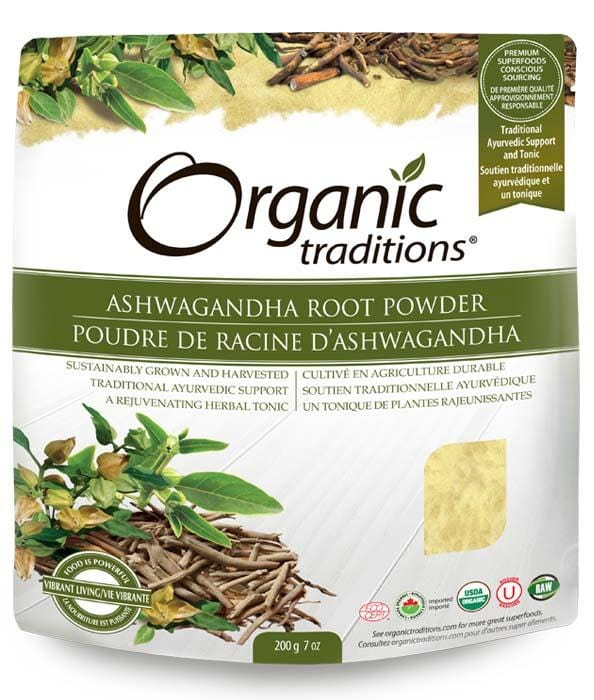 Organic Traditions Ashwagandha Root Powder