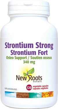 New Roots Strontium Strong 340 mg 120 Capsules