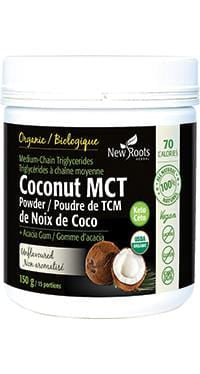 New Root Coconut MCT Unflavoured 150 g