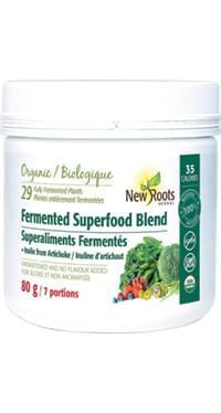 New Roots Fermented Superfood Blend + Inulin from Jerusalem Artichoke 80 g