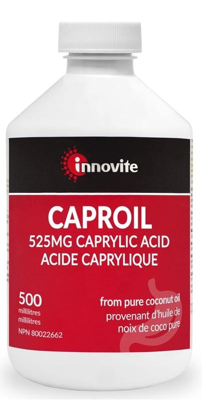 Innovite Caproil Liquid 525mg Caprylic Acid 500 ml
