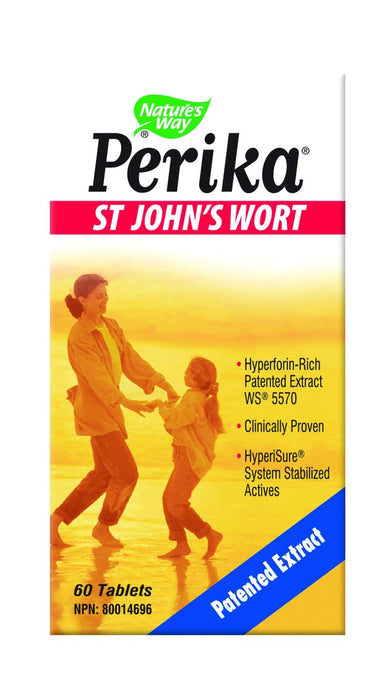 Nature's Way Perika St. John's Wort 60 Tablets