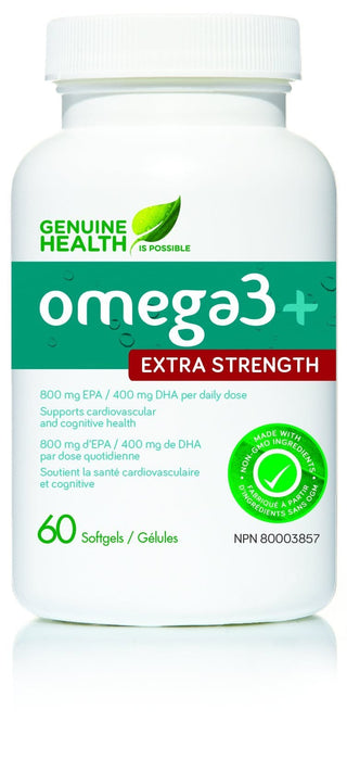 Genuine Health omega3 extra strength