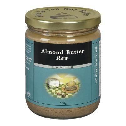 Nuts to You Nut Butter Almond Butter Raw Smooth