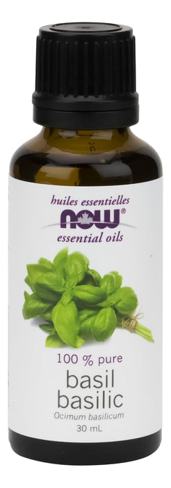 NOW Basil Oil (Ocimum basilicum) 30 mL