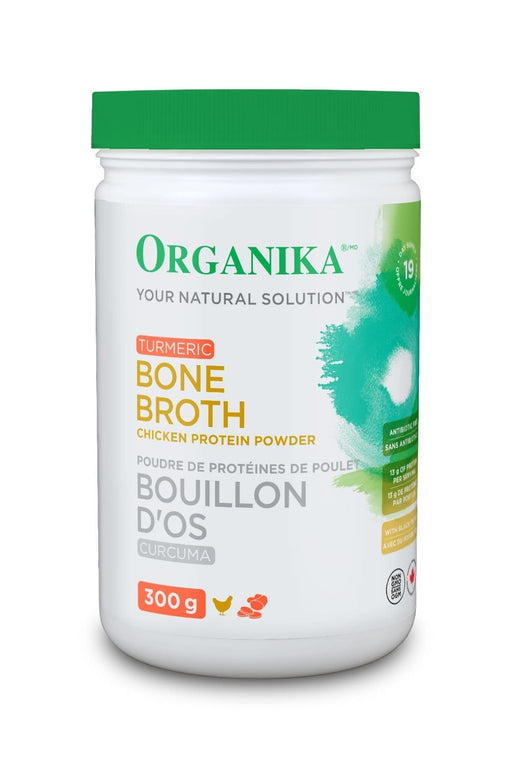Organika Turmeric Bone Broth Chicken Protein Powder