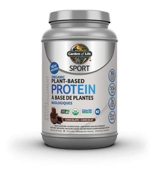 Garden of Life Sport Organic Plant-Based Protein Chocolate 840 g