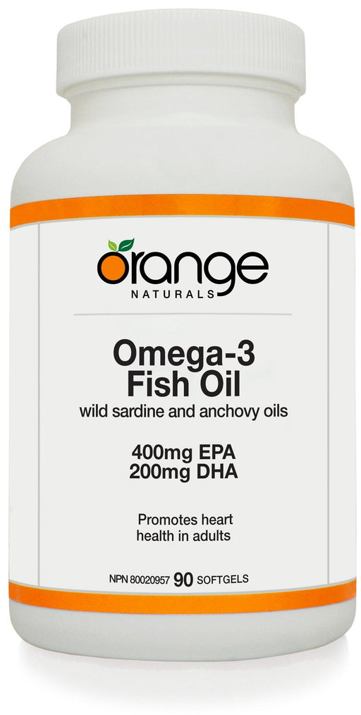 Orange Naturals Omega-3 Fish Oil 400 EPA / 200 DHA mg