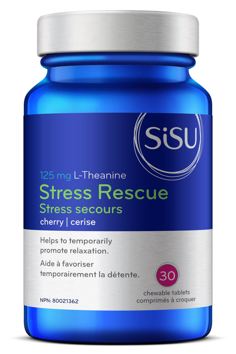 Sisu Stress Rescue L-Theanine (Chewables Cherry Flavour)