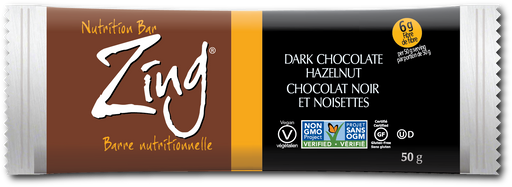 Zing Nutrition Bar - Dark Chocolate Hazelnut