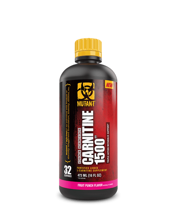 Mutant Carnitine 1500 Fruit Punch Flavour 473 mL
