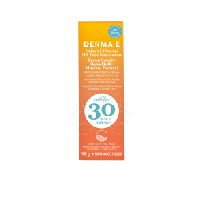 Derma E Natural Mineral Sunscreen SPF 30 Face 56g