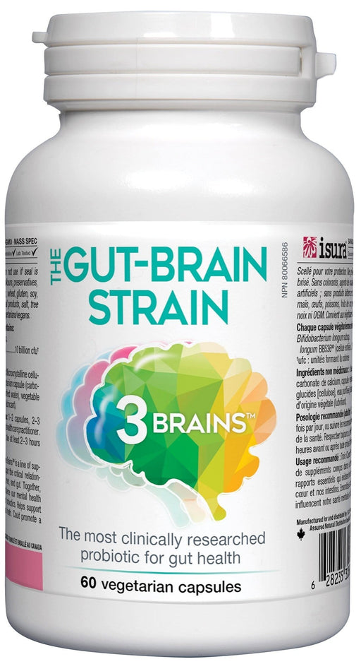 3 Brains The Gut-Brain Strain