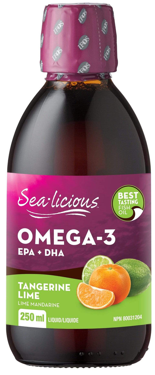 Karlene's Sea-licious Omega-3 with EPA + DHA - Tangerine Lime (Short Dated)