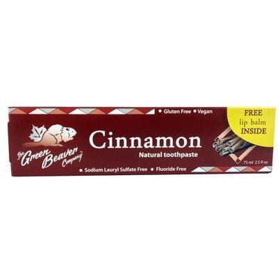 Green Beaver Co. Cinnamon Toothpaste