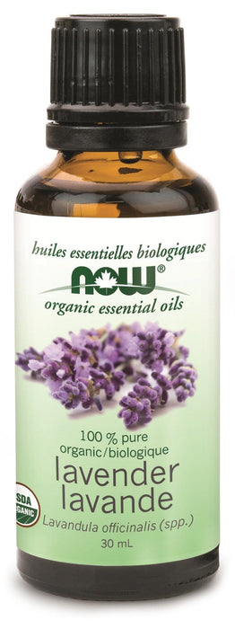 NOW Organic Lavender Oil
