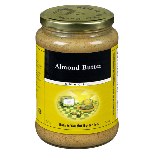 Nuts to You Nut Butter Almond Butter - Smooth 735 g