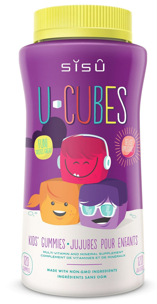Sisu U-Cubes Kids Gummies