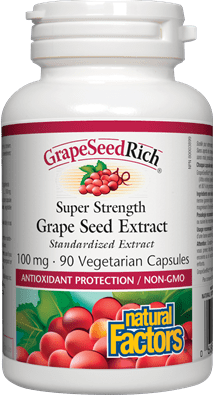 Natural Factors GrapeSeedRich 100 mg