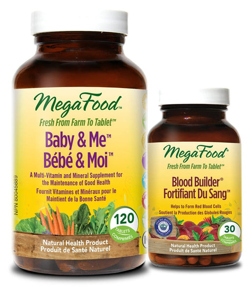 MegaFood Baby & Me With FREE Blood Builder