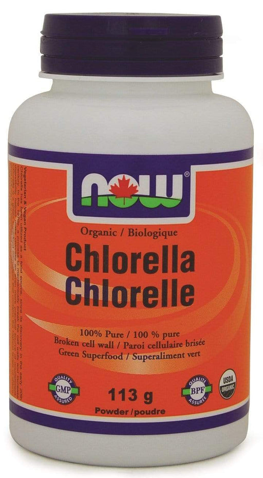 NOW Organic Chlorella Pure Powder (Short Dated)