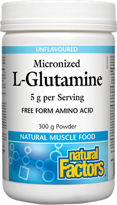 Natural Factors Micronized L-Glutamine Unflavoured 300g
